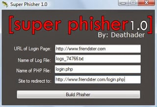 How To Make Phishing Page Of Any Website Using Tool super